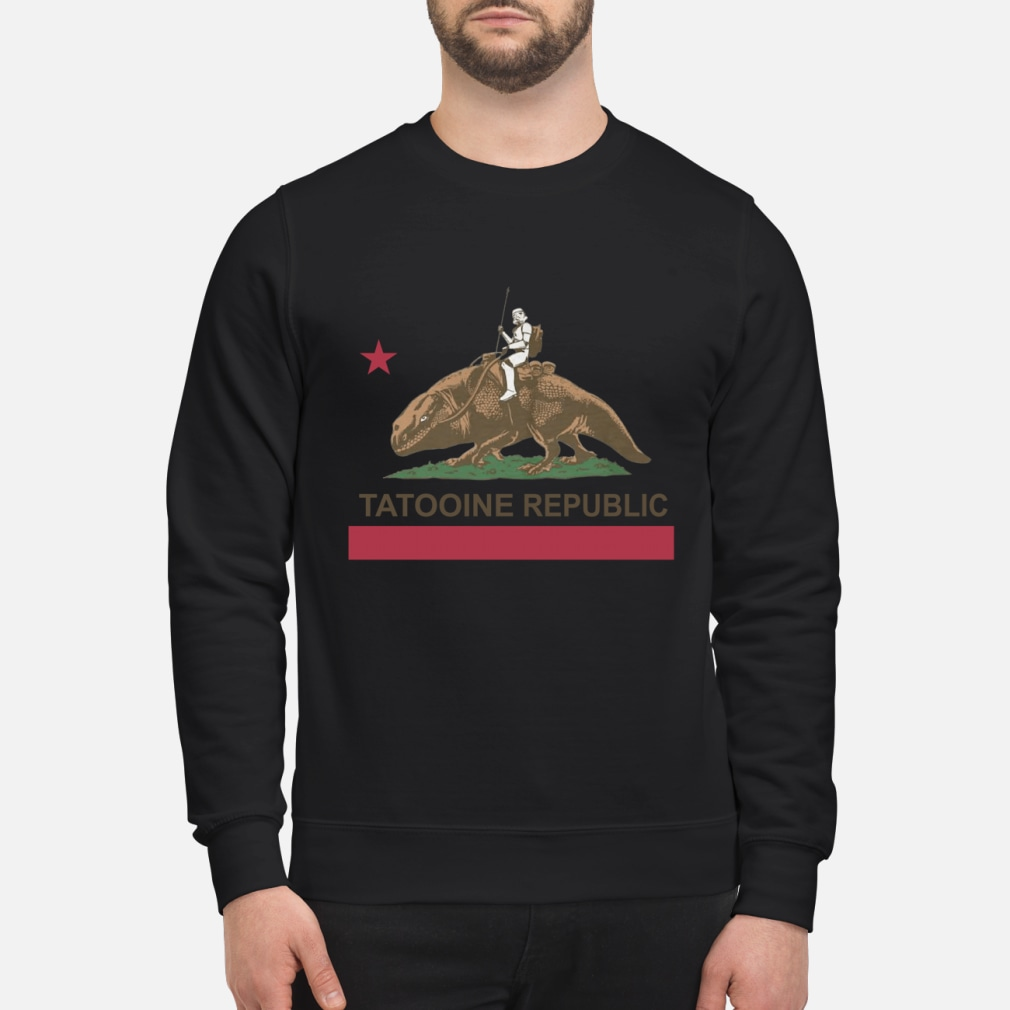 Star Wars Tatooine Republic Shirt sweater