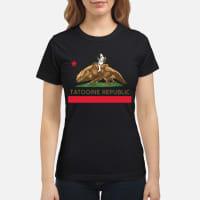 Star wars Tatooine republic Shirt ladies tee