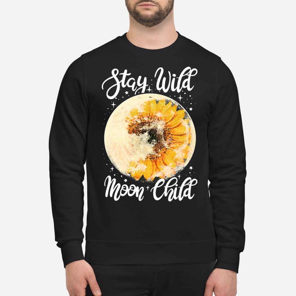 Stay Wild Moon Child Sunflower Shirt sweater