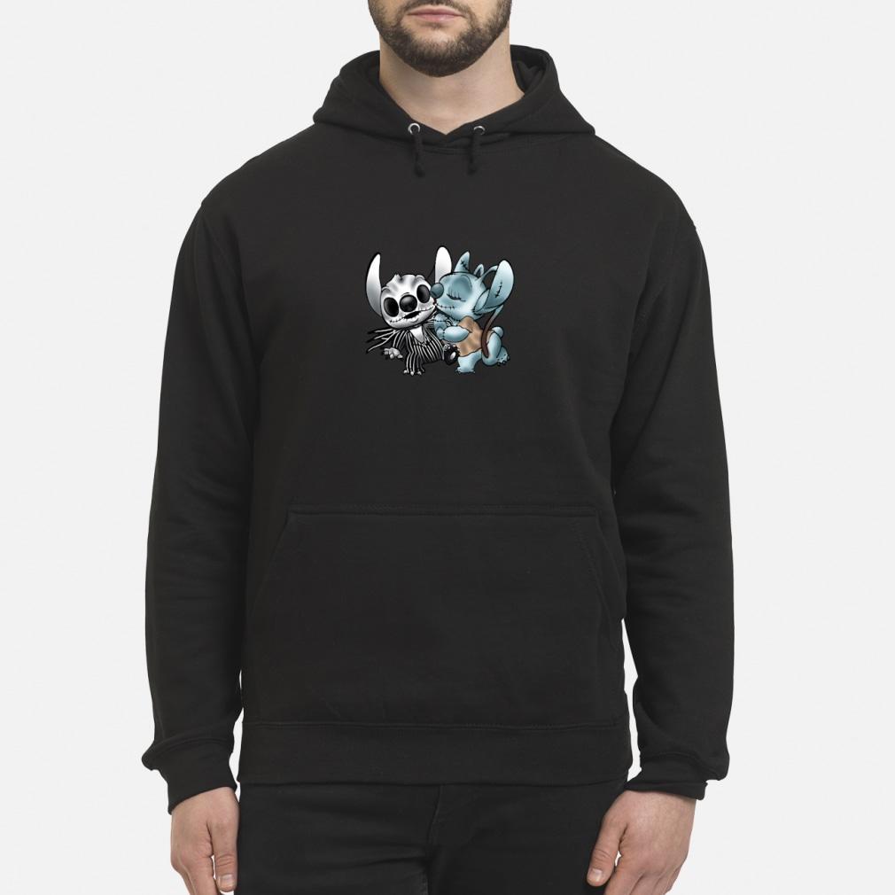 Stitch Jack Skellington Sally nightmare shirt hoodie