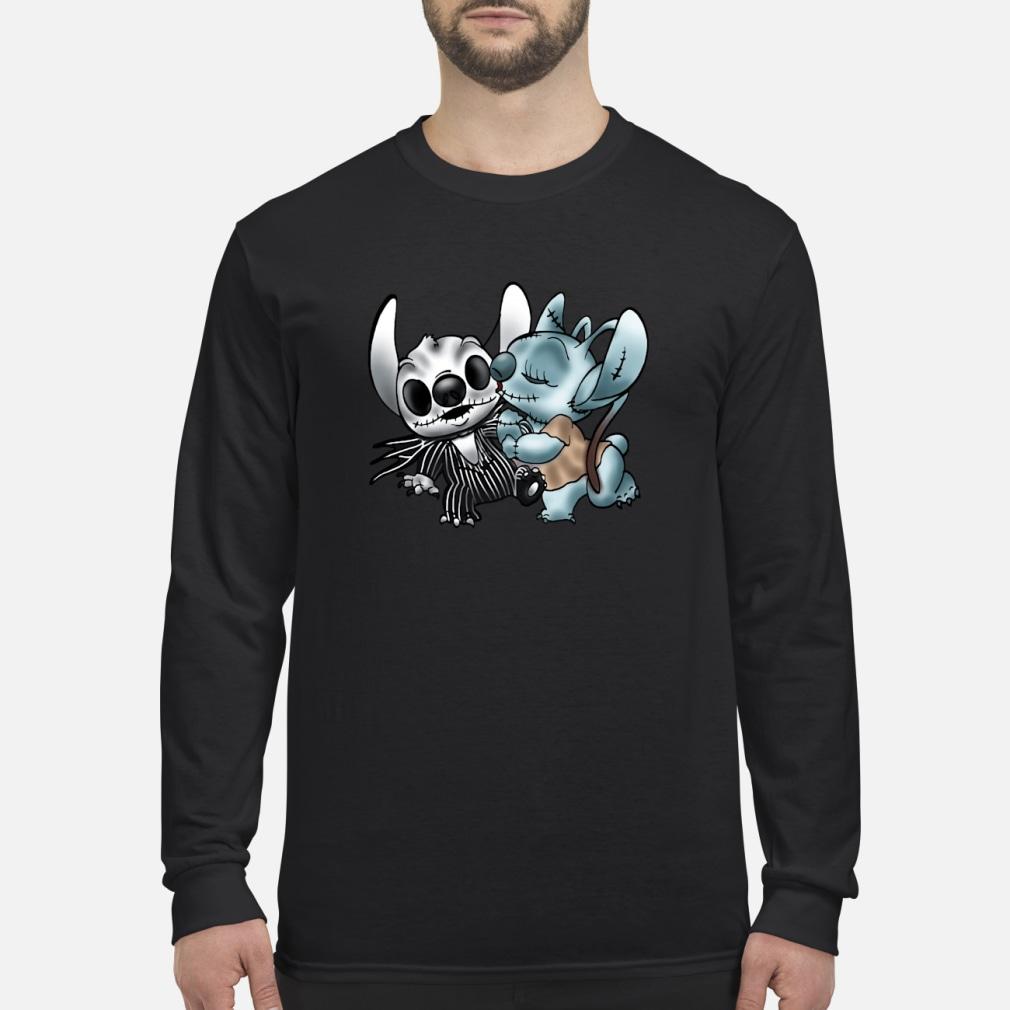 Stitch Jack Skellington Sally nightmare shirt Long sleeved