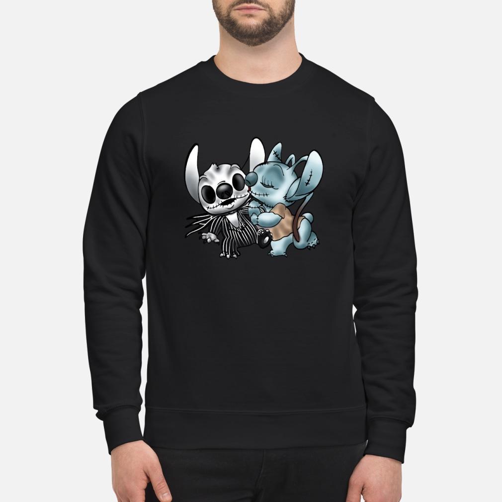 Stitch Jack Skellington Sally nightmare shirt sweater
