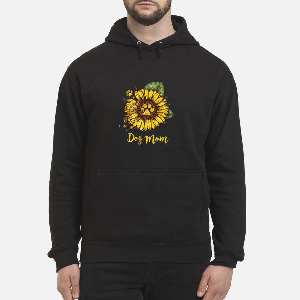 Sunflower Dog mom shirt hoodie