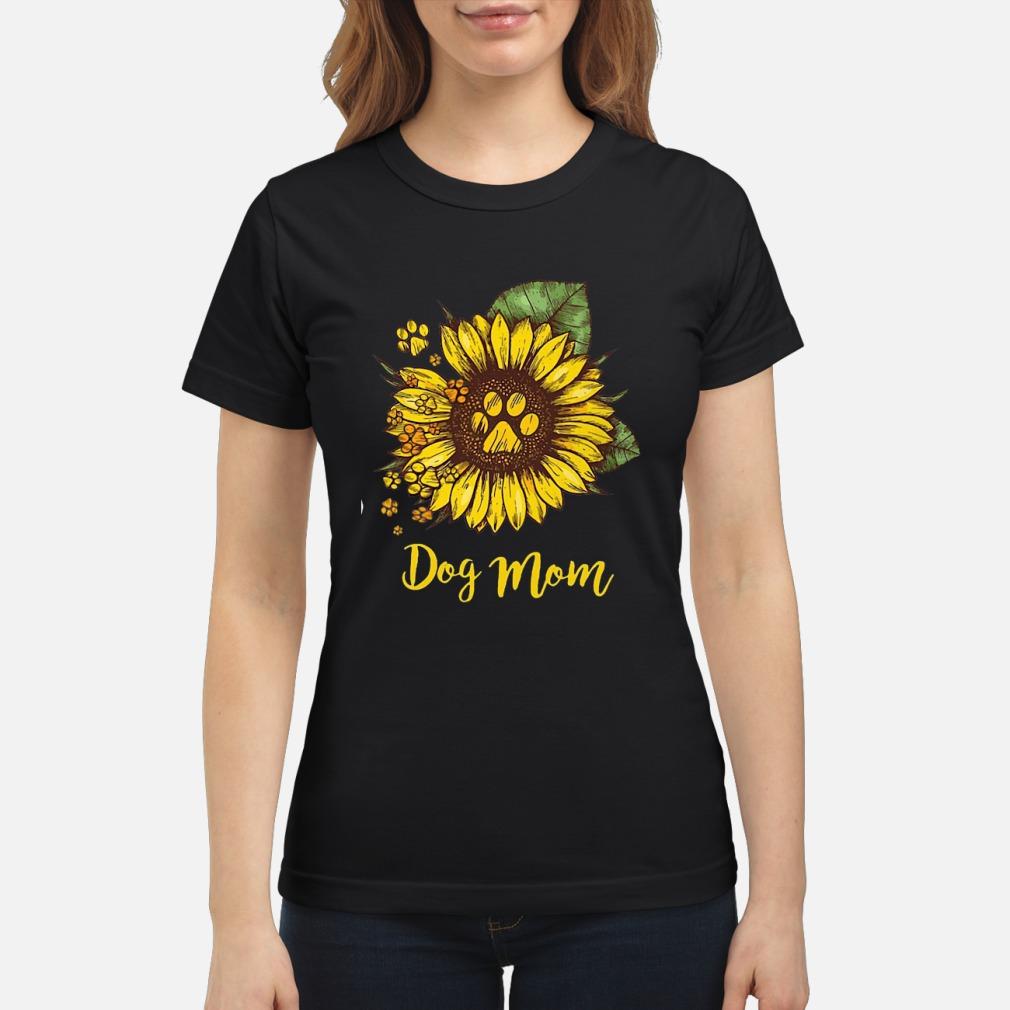 Sunflower Dog mom shirt ladies tee