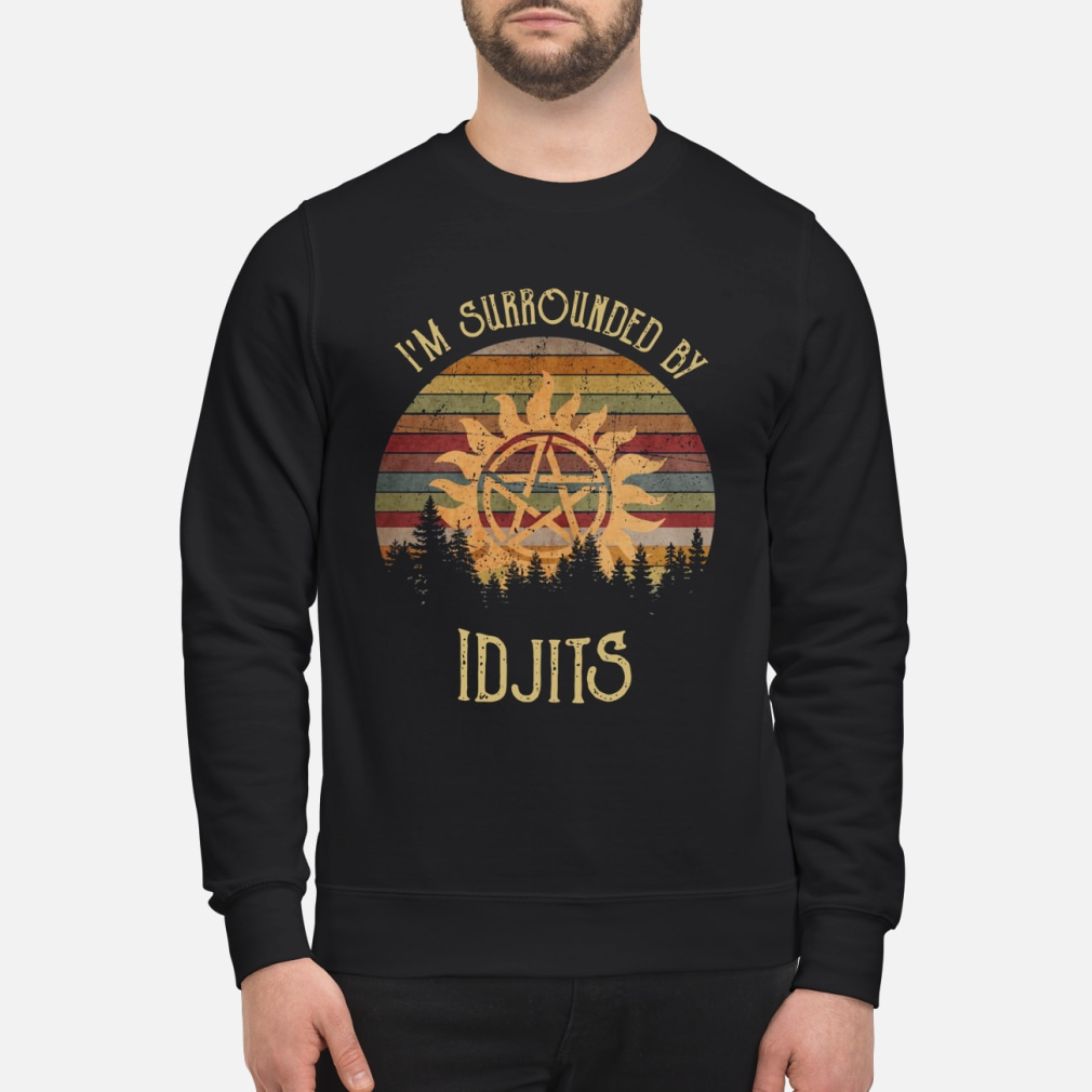 SuperNatural I'm Surrounded by IDJTS sunset retro shirt sweater