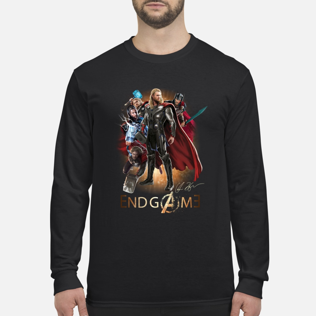 Team Thor Avengers Endgame shirt Long sleeved