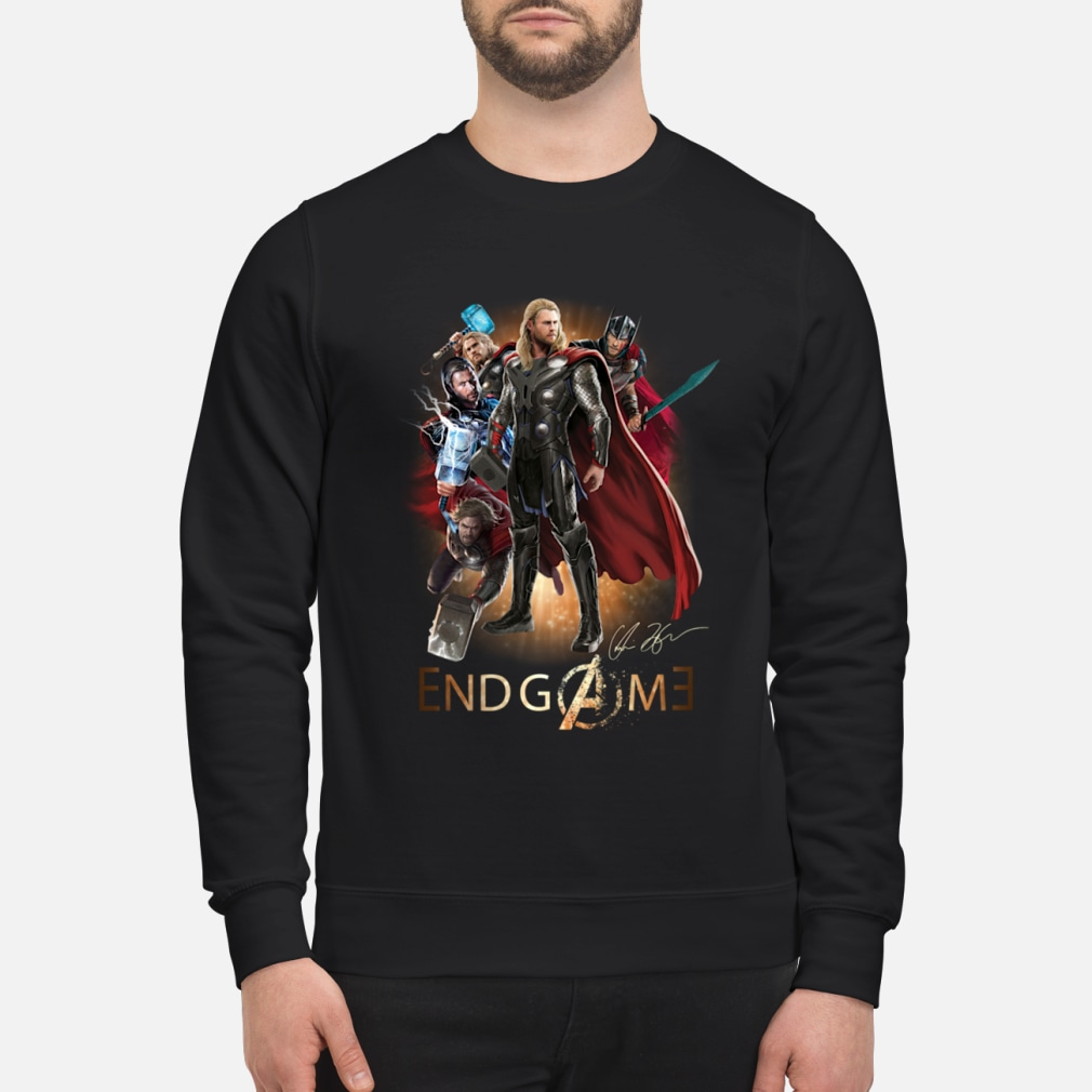 Team Thor Avengers Endgame shirt sweater
