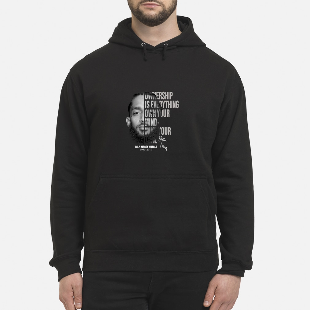Thank You For The Memories Nipsey Hussle Shirt hoodie
