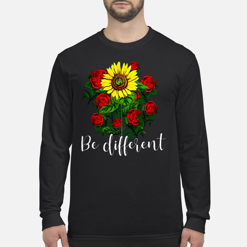 The flower Be different ladies shirt Long sleeved