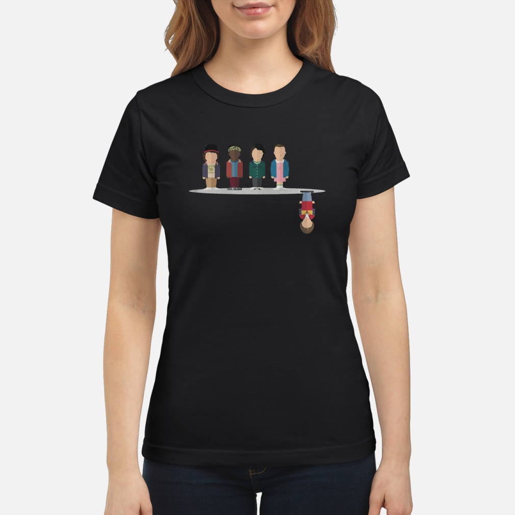 The upside down shirt ladies tee