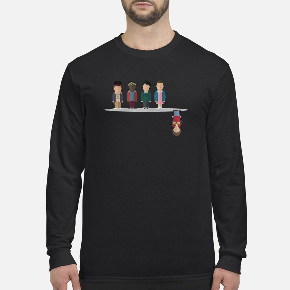 The upside down shirt Long sleeved