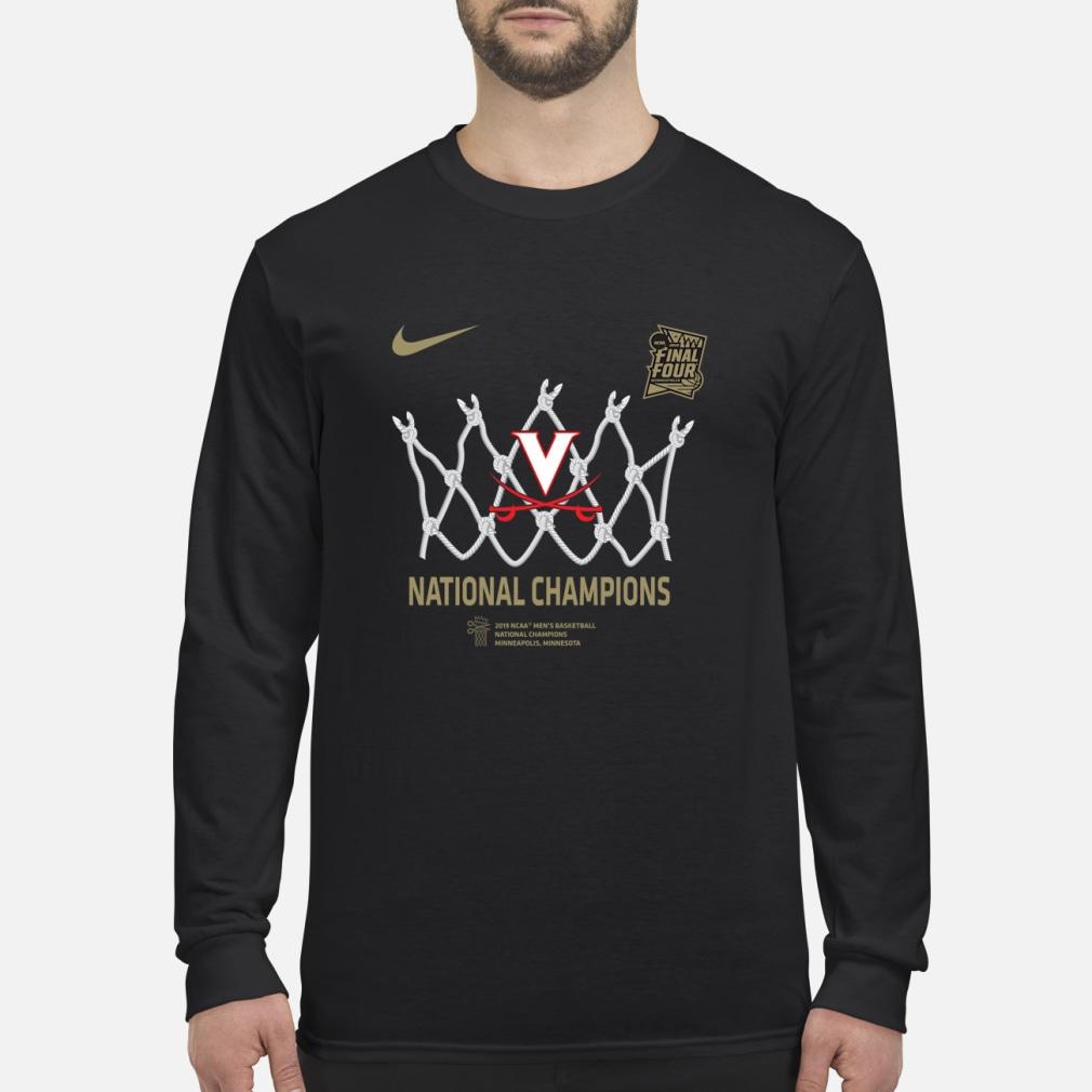 Uva national championship shirt Long sleeved