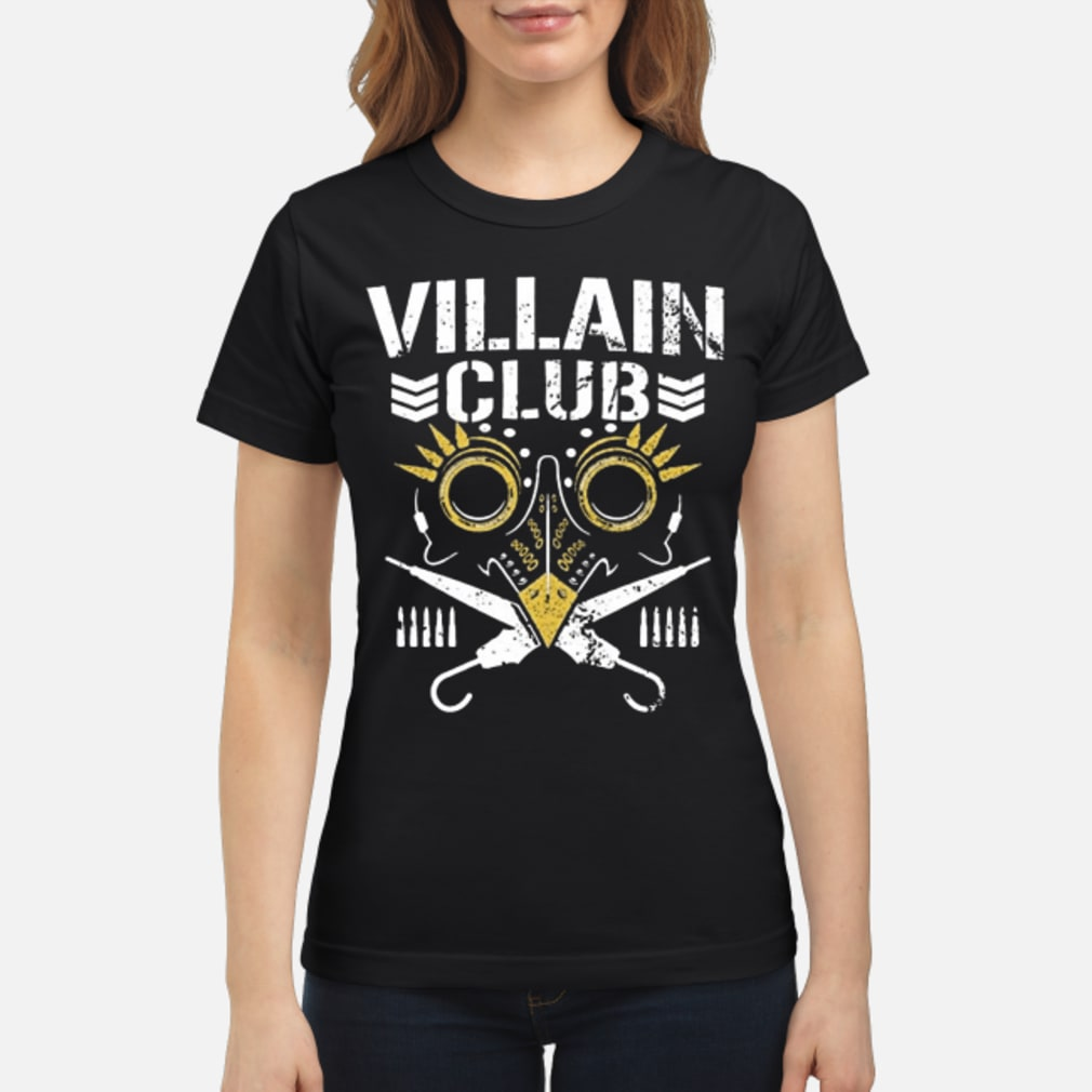 Villain club shirt ladies tee