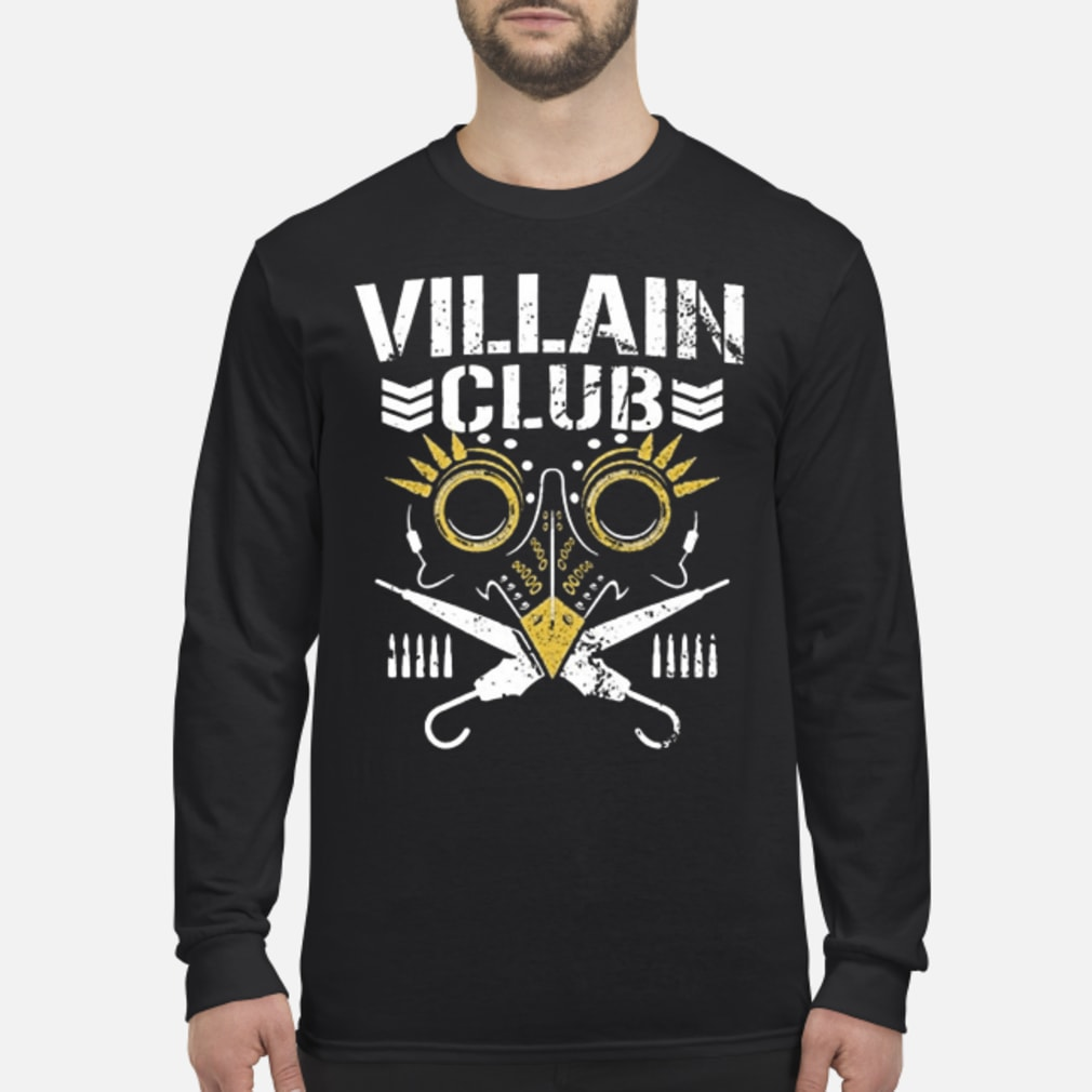 Villain club shirt Long sleeved