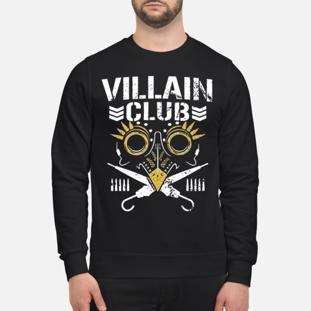 Villain club shirt sweater