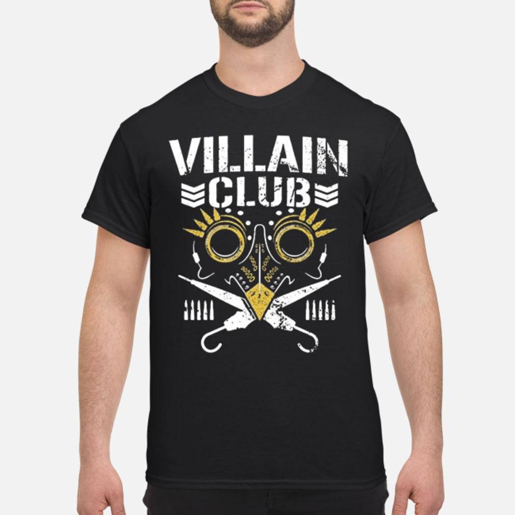 Villain club shirt