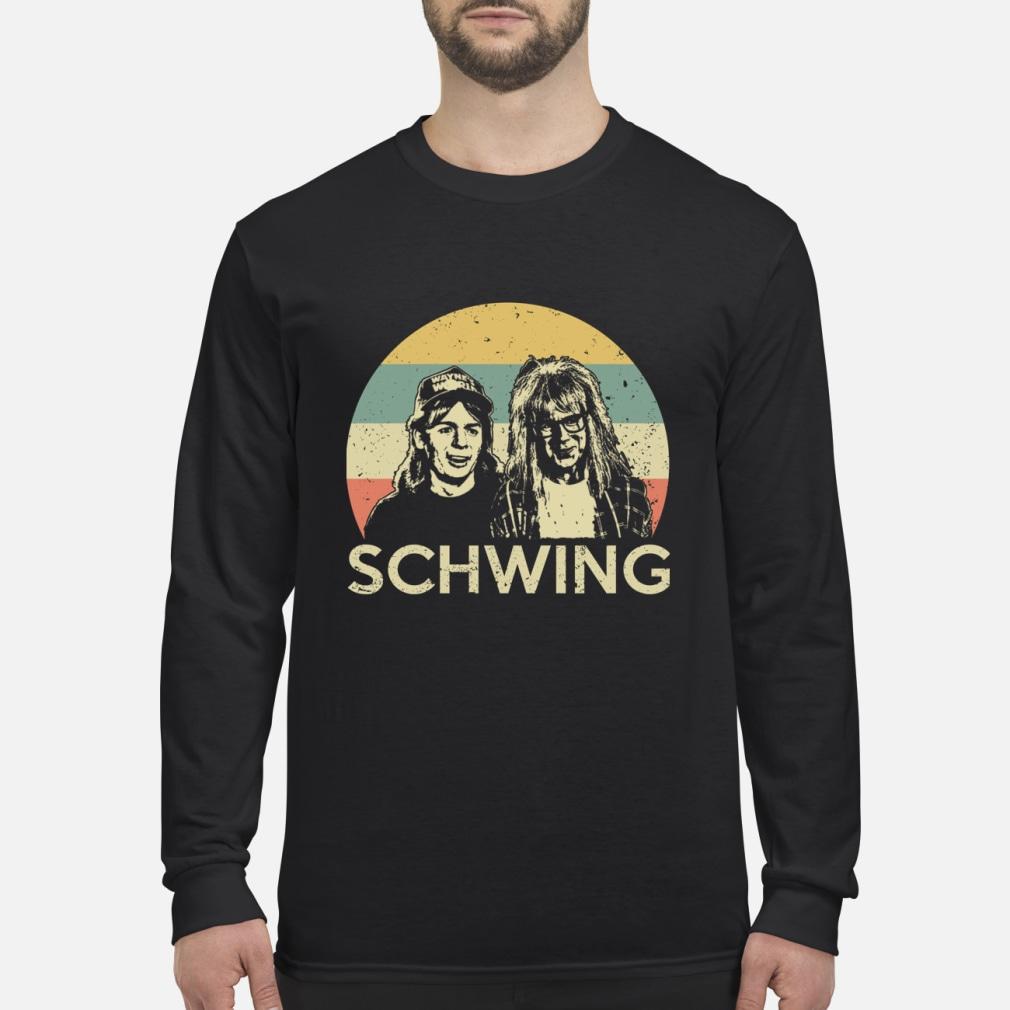 Wayne's World Schwing vintage shirt Long sleeved