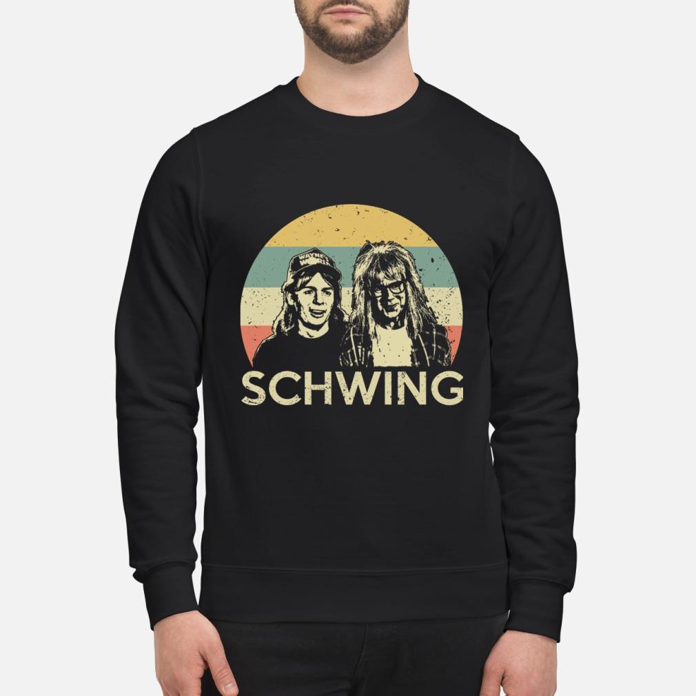 Wayne's World Schwing vintage shirt sweater