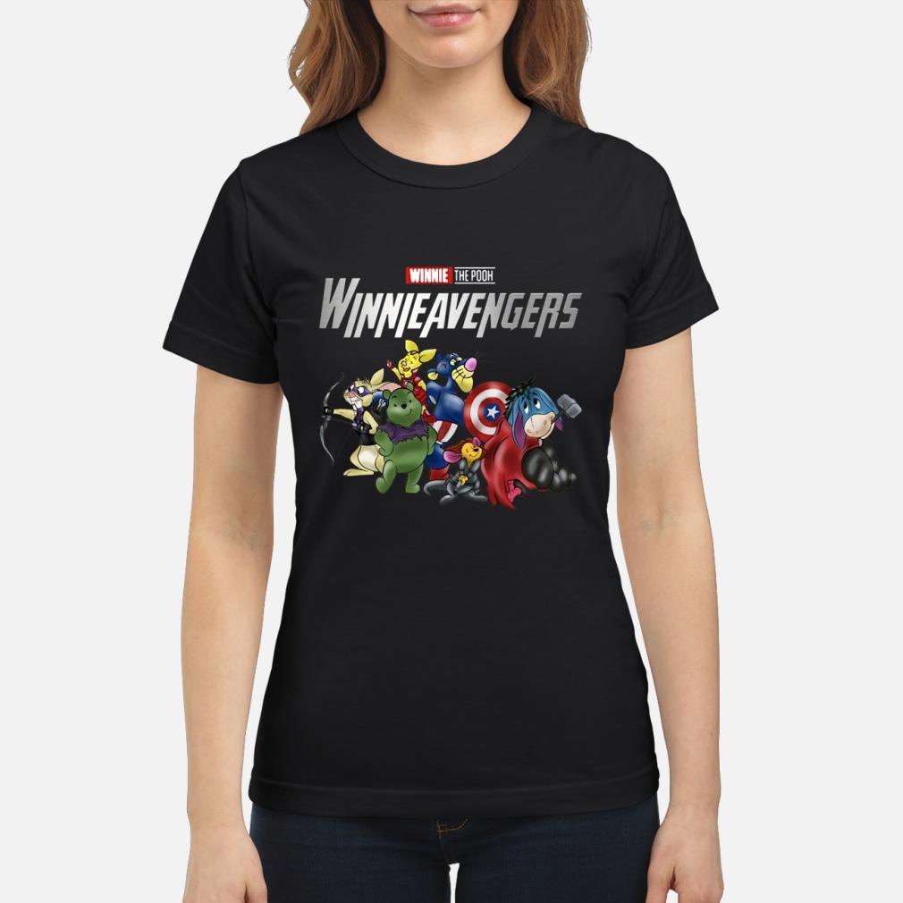 Winnie the pooh Winnie Avengers shirt ladies tee