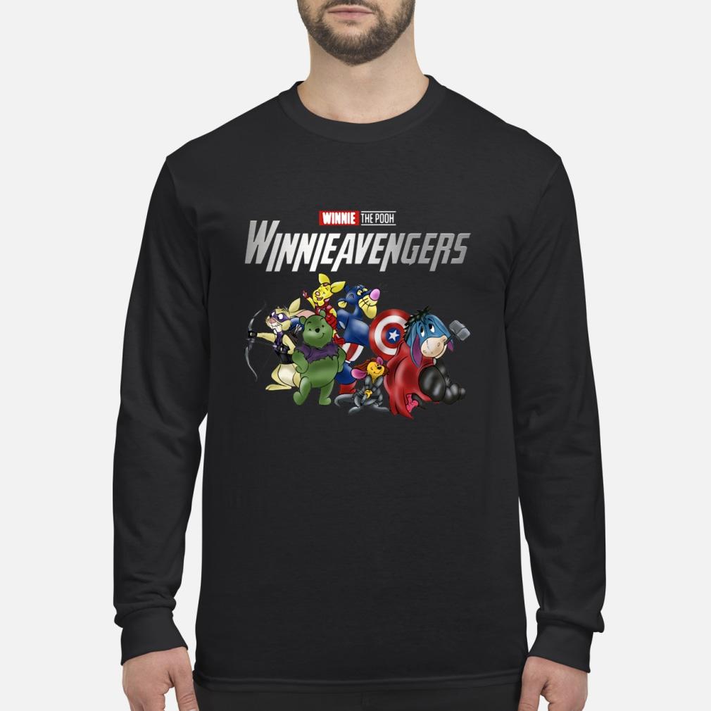 Winnie the pooh Winnie Avengers shirt Long sleeved