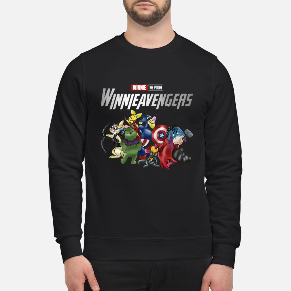 Winnie the pooh Winnie Avengers shirt sweater