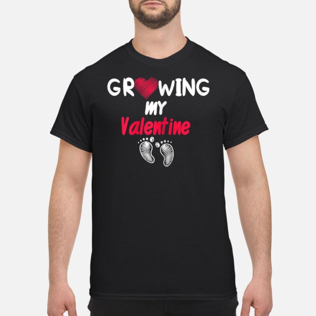 Womens Growing my Valentine Shirt