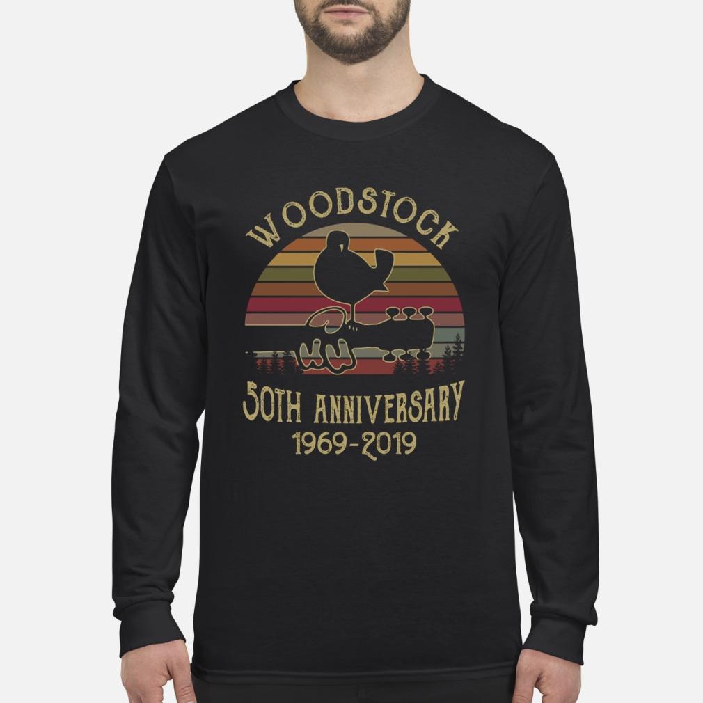 Woodstock 50th anniversary 1969-2019 shirt Long sleeved