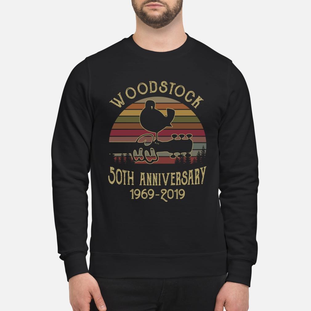 Woodstock 50th anniversary 1969-2019 shirt sweater
