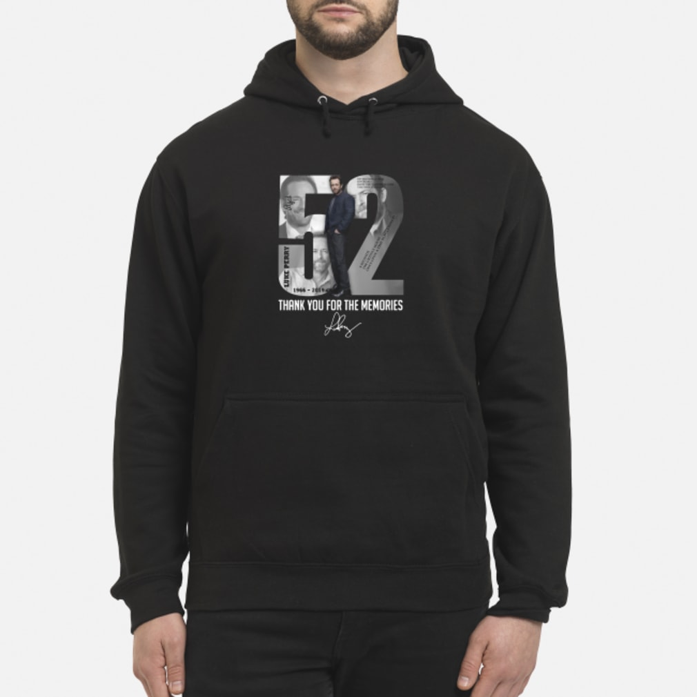 52 - Luke Perry shirt hoodie