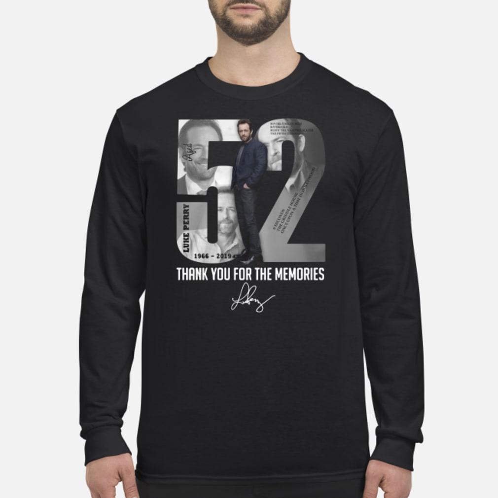 52 - Luke Perry shirt Long sleeved