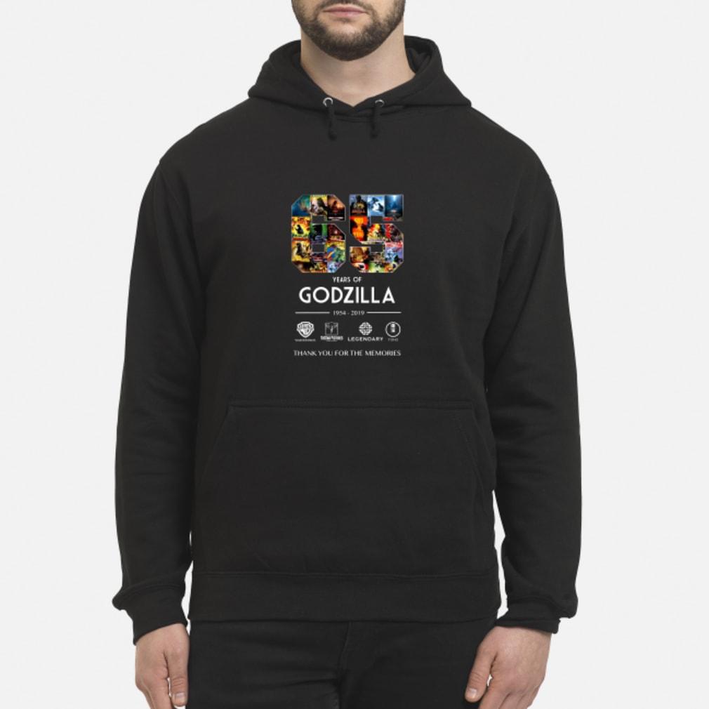 65th Years of Godzilla 1954-2019 shirt hoodie