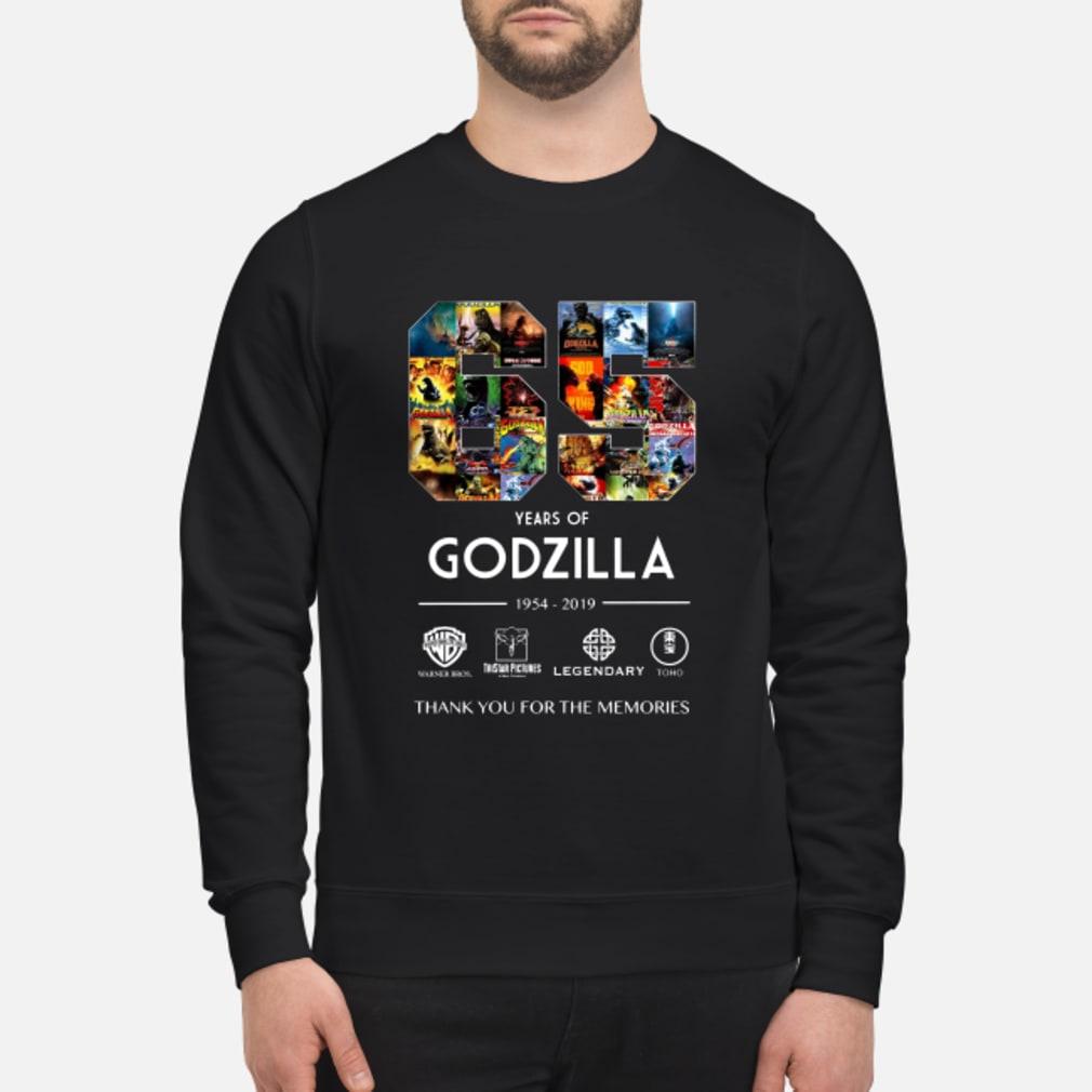 65th Years of Godzilla 1954-2019 shirt sweater
