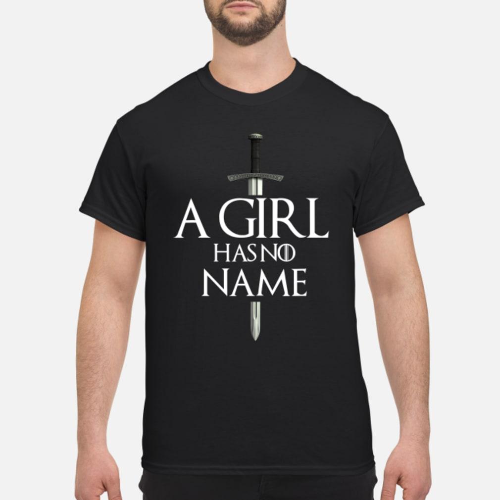A girl has no name shirt