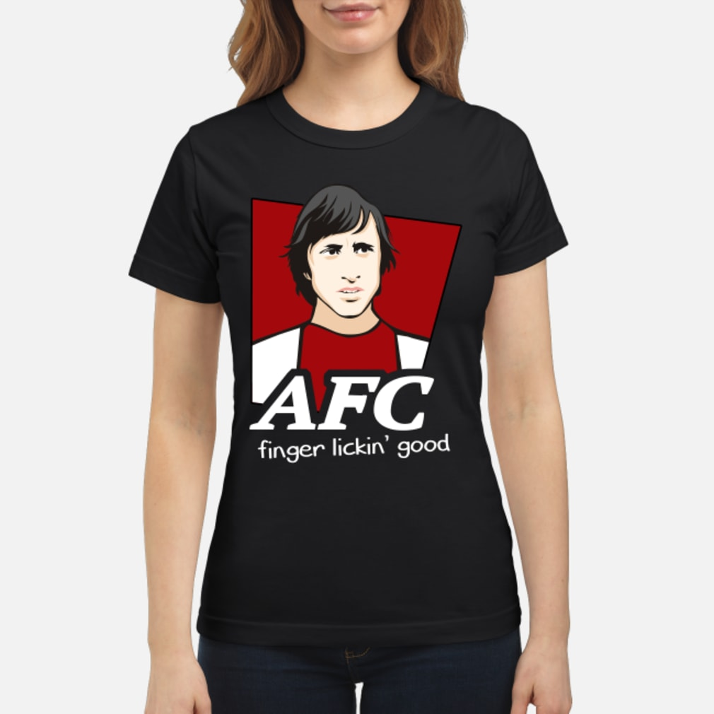 AFC finger lickin' good shirt ladies tee