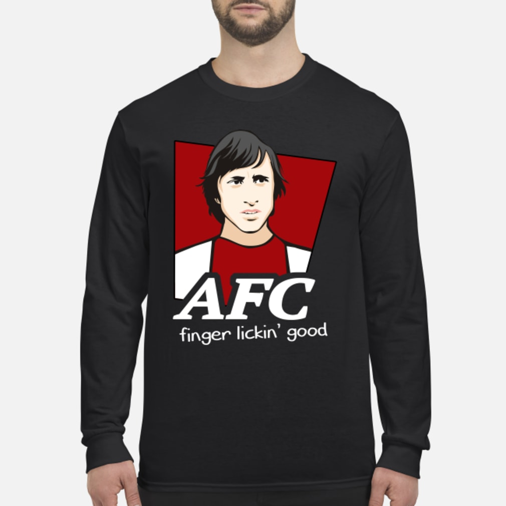 AFC finger lickin' good shirt Long sleeved