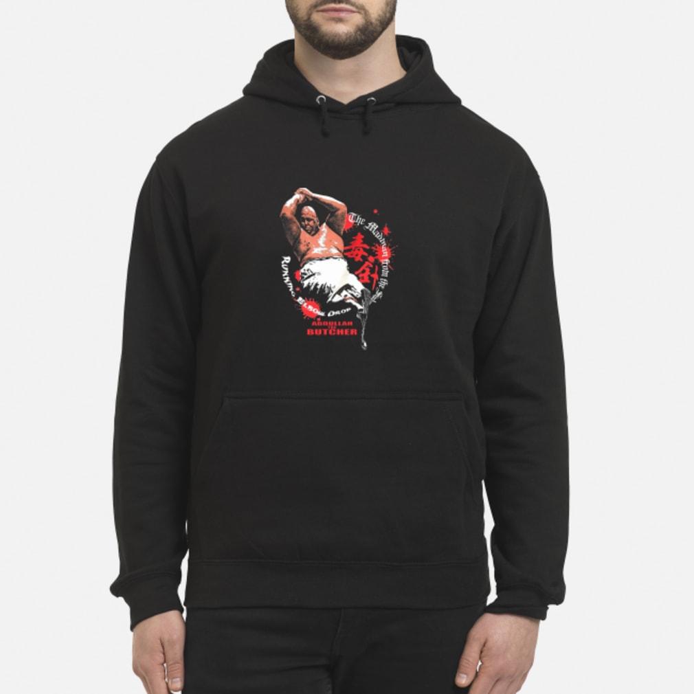 Abdullah The Butcher Shirt hoodie