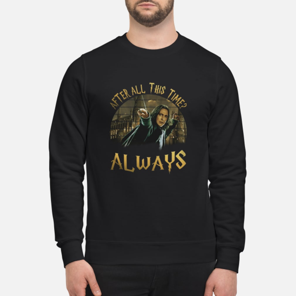 After All This Time shirt sweater