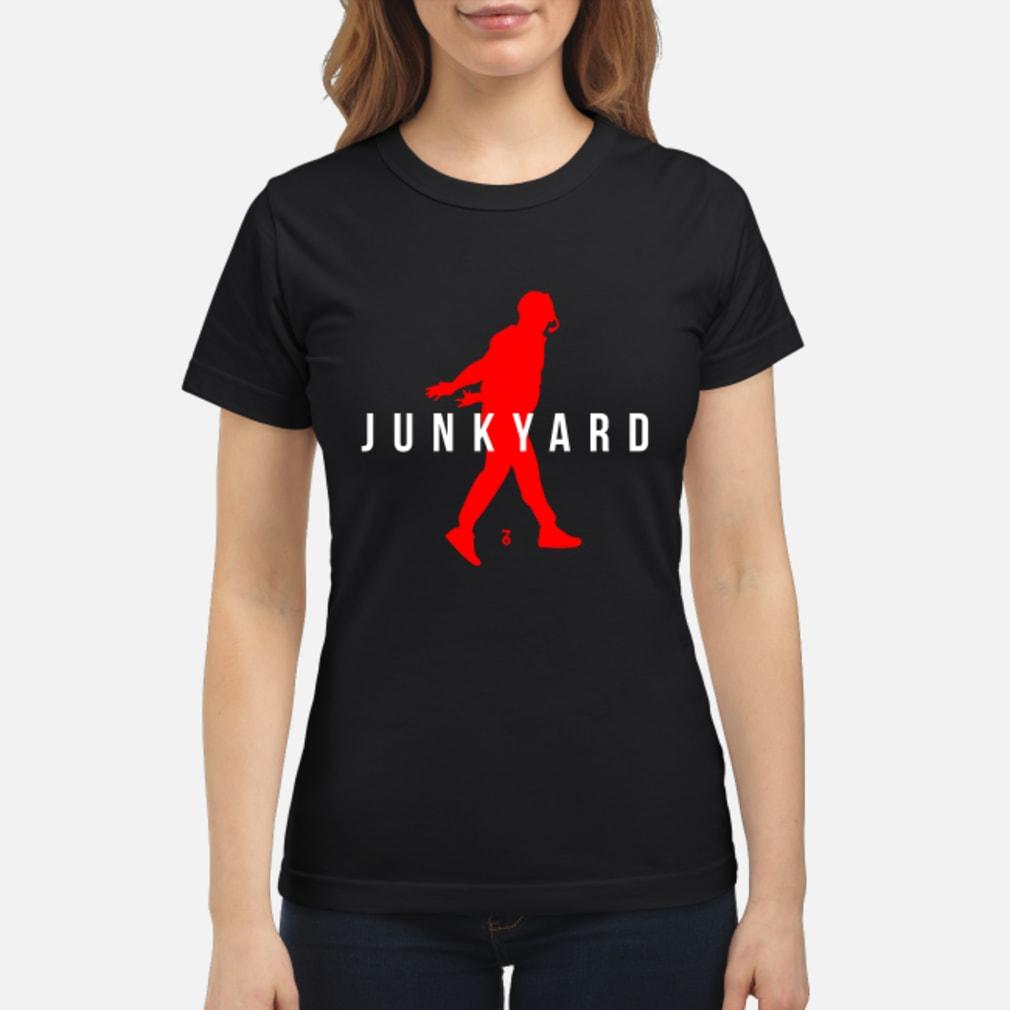 Air Jordan Junkyard Shirt ladies tee