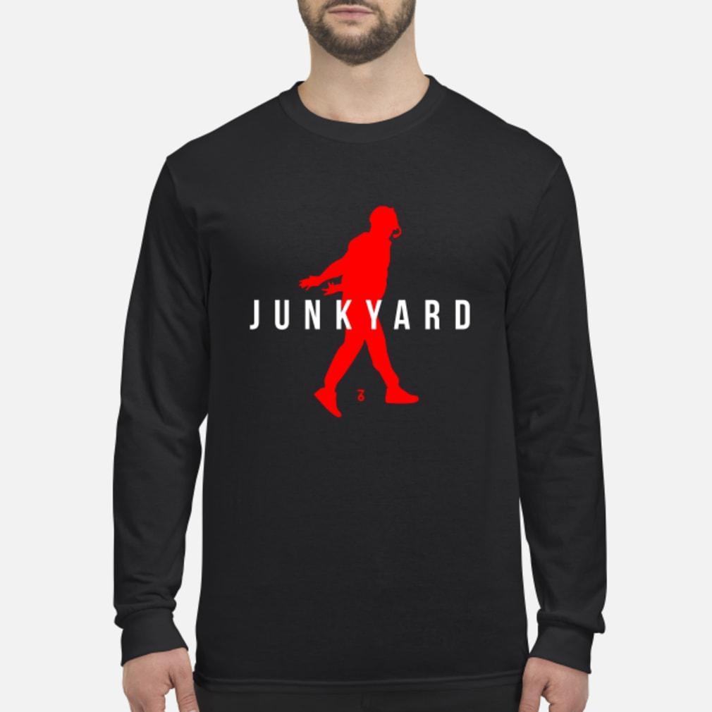 Air Jordan Junkyard Shirt Long sleeved