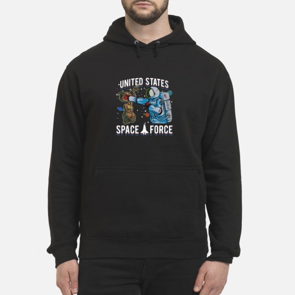 Alien United States space force shirt hoodie