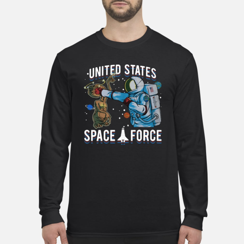 Alien United States space force shirt Long sleeved