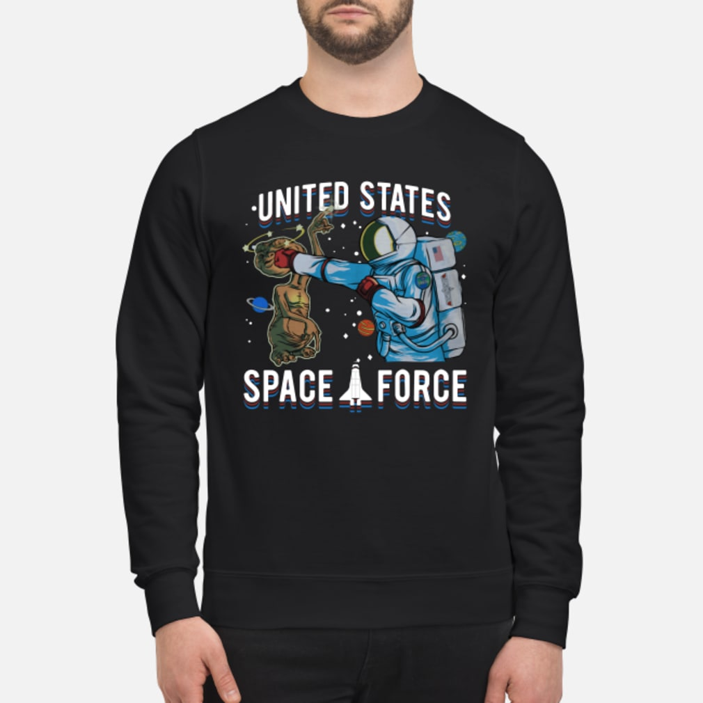 Alien United States space force shirt sweater