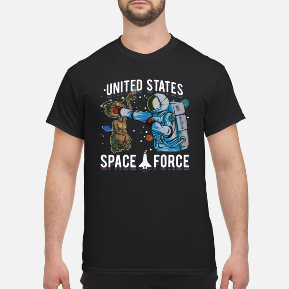Alien United States space force shirt