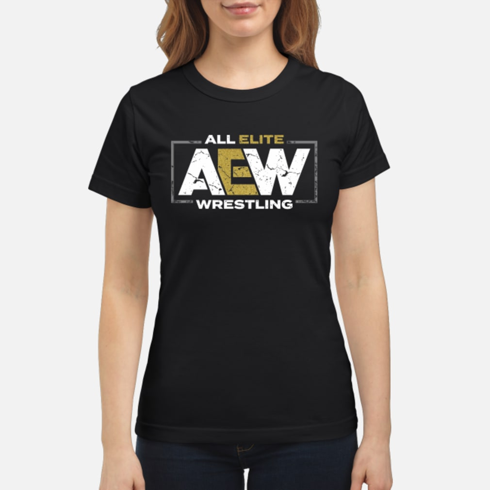 All elite AEW wrestling shirt ladies tee