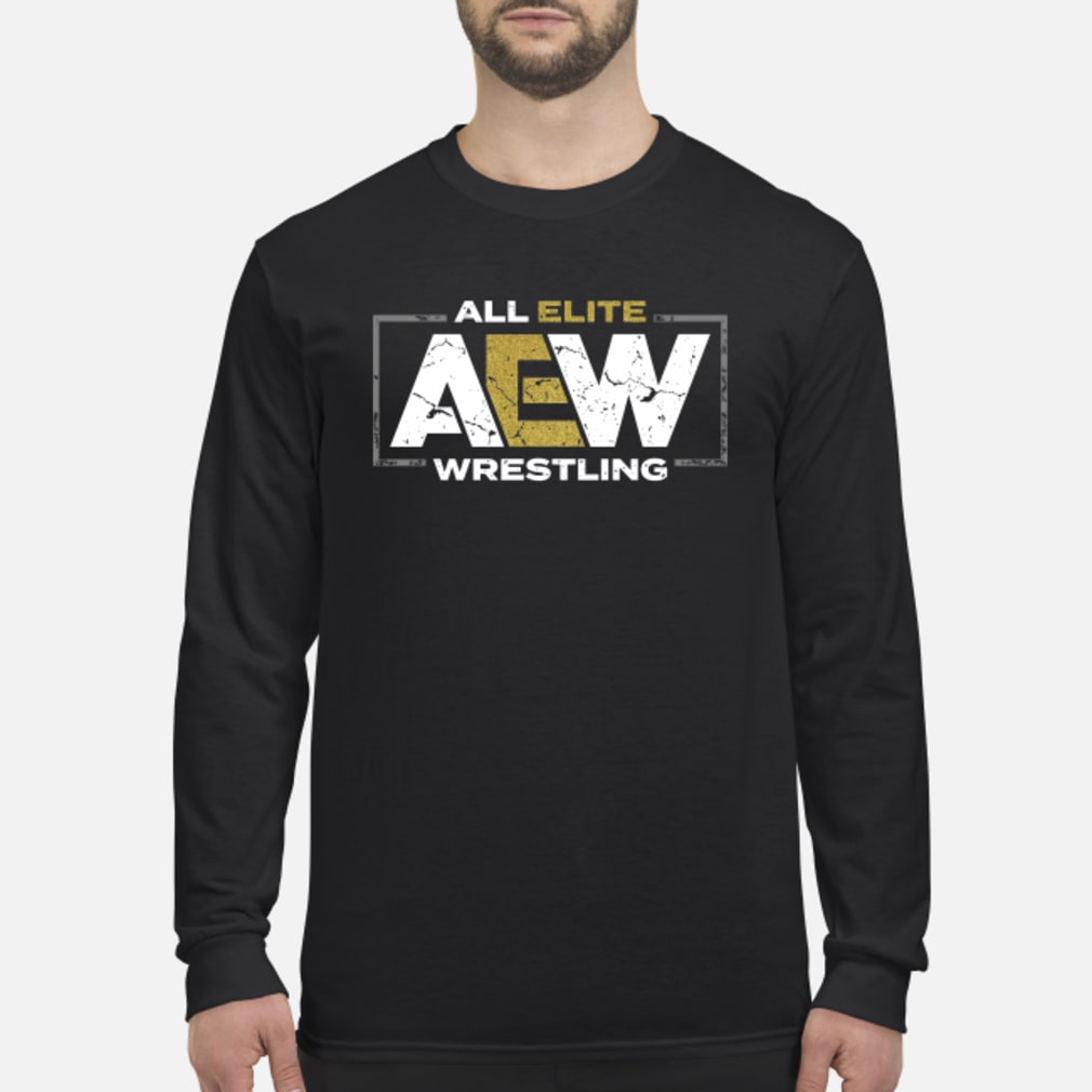 All elite AEW wrestling shirt long sleeved