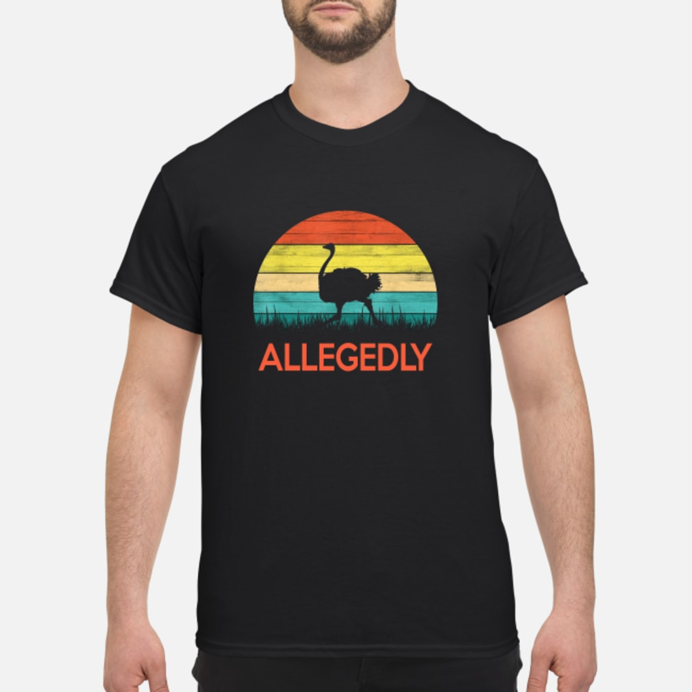 Allegedly Ostrich vintage shirt