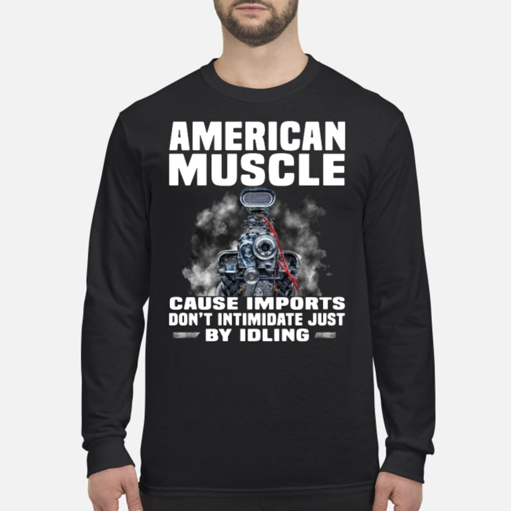 American muscle shirt Long sleeved