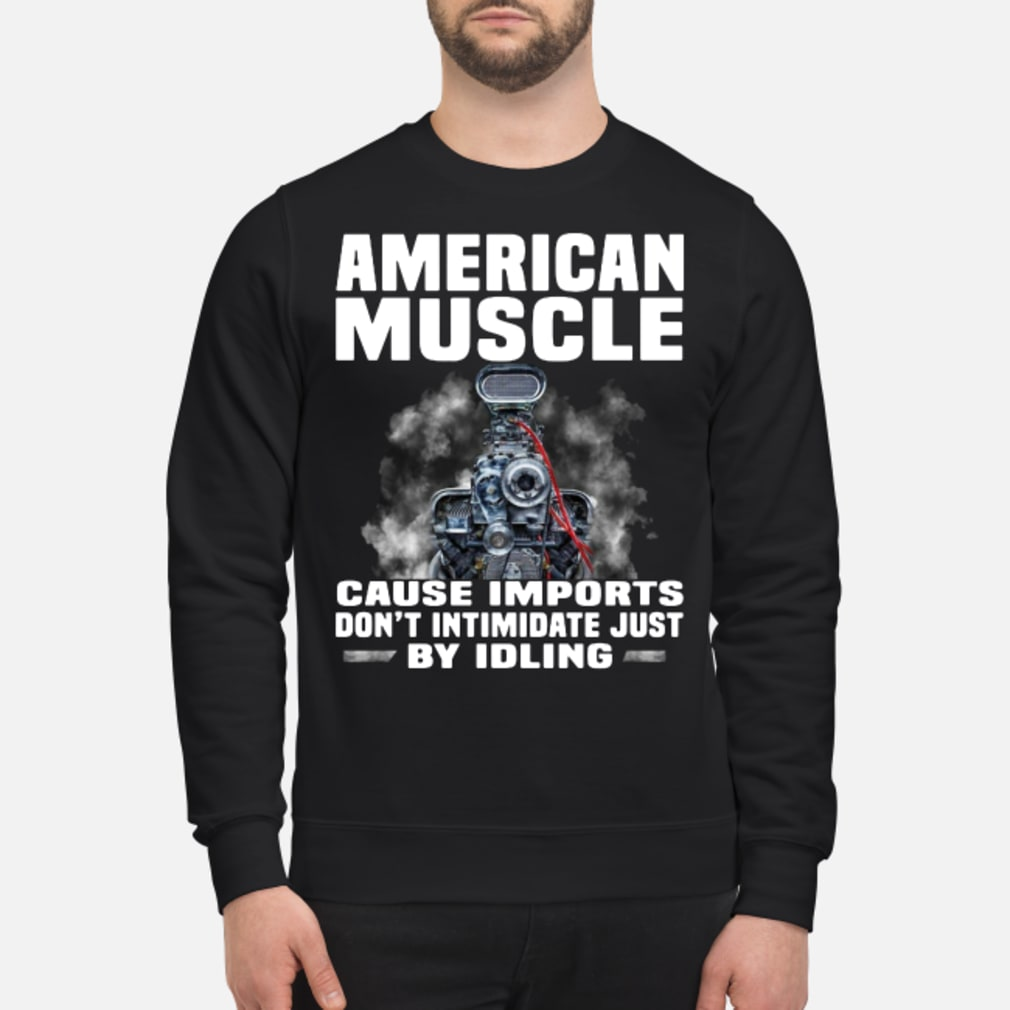American muscle shirt sweater