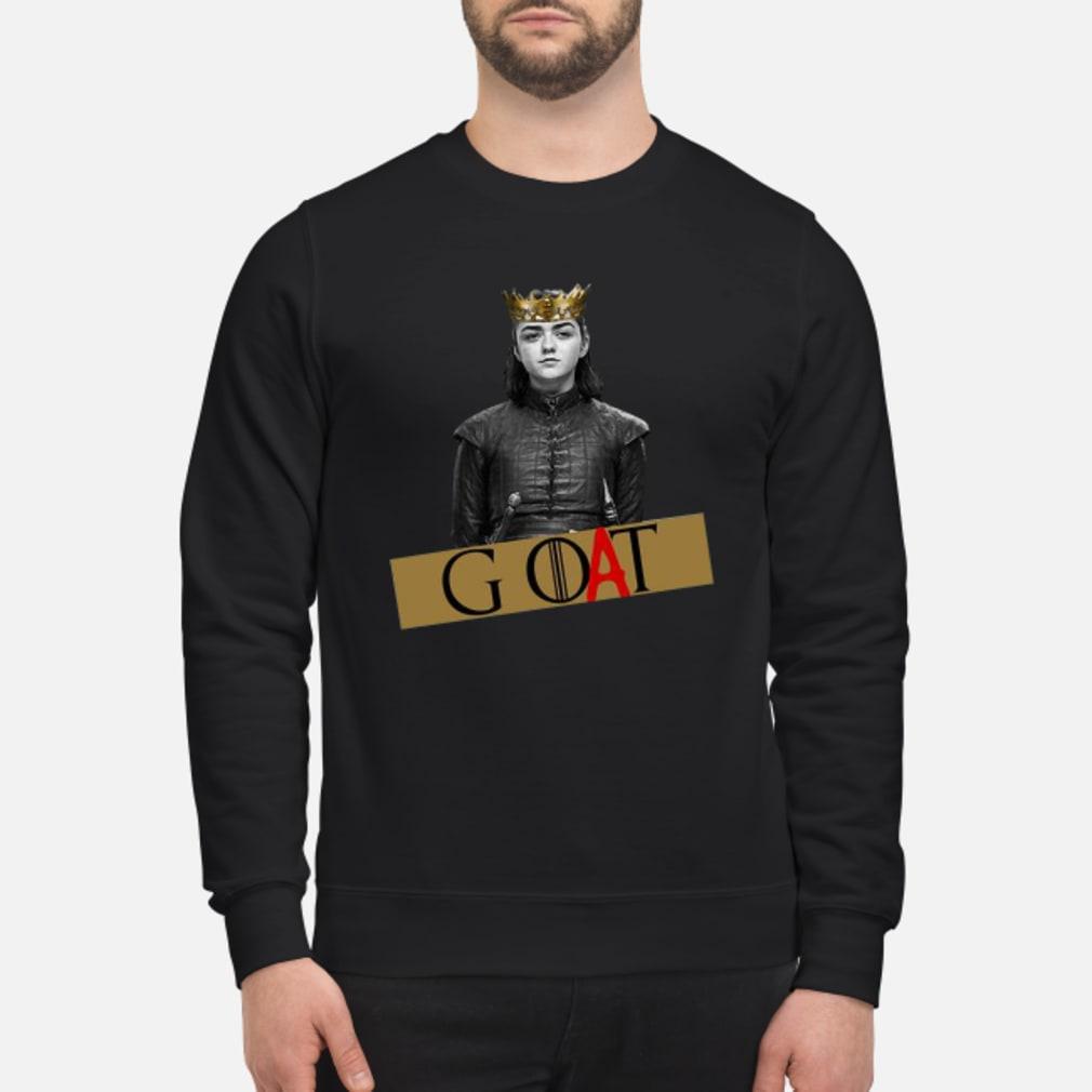 Arya Stark GOAT GOT Shirt sweater