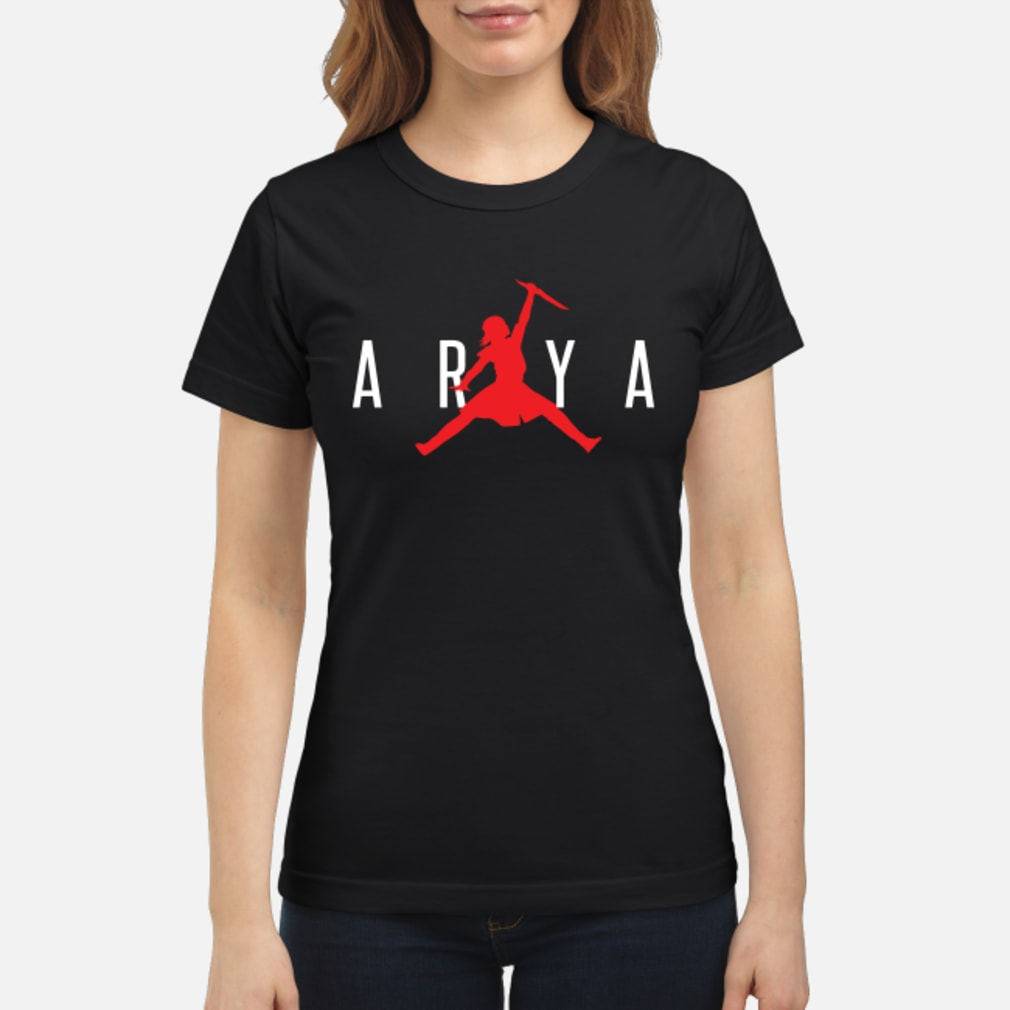 Arya jumpman shirt ladies tee
